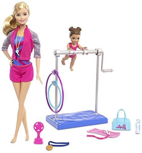 Barbie Gymnastic Coach &