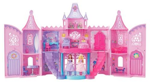 Barbie The Princess and The Popstar Musical Light Up Castle