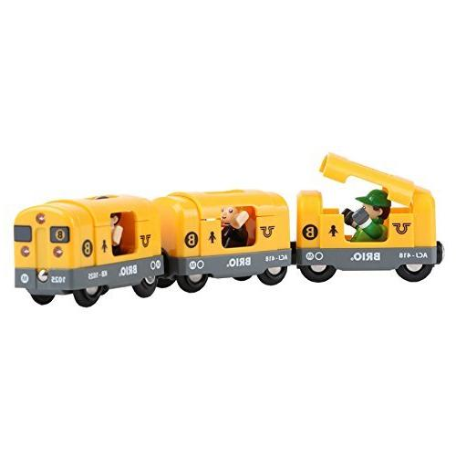 Brio Deluxe Railway Set Wooden Toy for Kids with European Wood