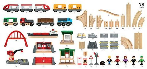 Brio Wooden Train Set for Kids with