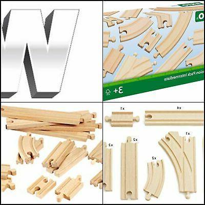 Brio Expansion Pack Intermediate Wooden Track Train Set - Ma