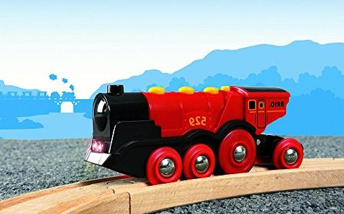 Brio Mighty Action Toy Train, Battery Operated Effects