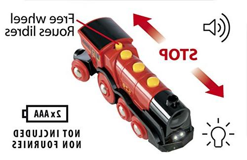 Brio Toy Train, - Battery Operated With Effects