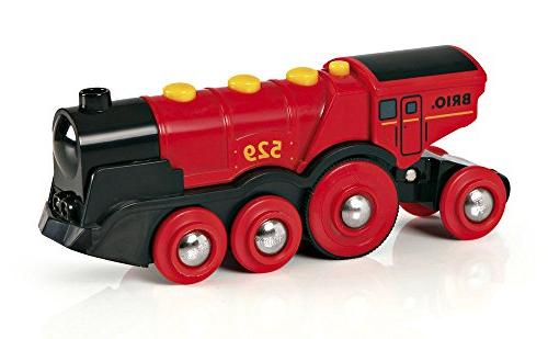 Brio Toy Train, Red Battery Toy With and Effects