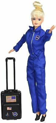 Daron Astronaut Doll  in Blue Suit -