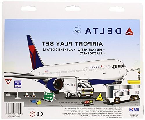 Delta Airlines 12 Playset