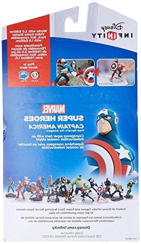 Disney - Infinity: Marvel Captain America Figure