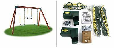 Eastern Jungle Gym DIY Swing Set Hardware Kit with Easy 1-2-