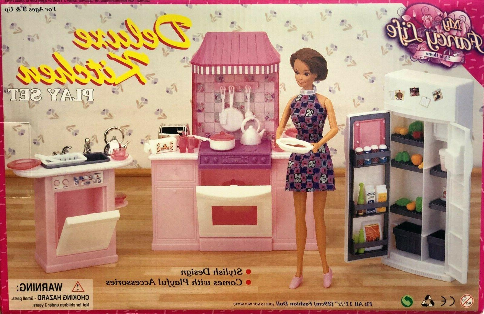 Gloria,Barbie Doll Furniture/ My Fancy Life Deluxe Kitchen
