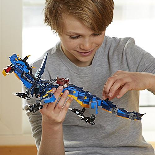 LEGO NINJAGO Spinjitzu: Toy with Blue Kids, for