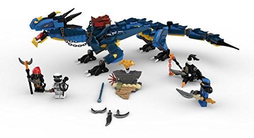 LEGO NINJAGO Masters Spinjitzu: 70652 Toy Kit Blue Model Kids, Playset for Boys