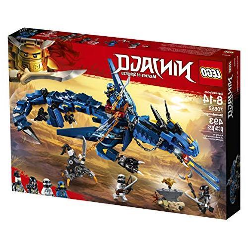 LEGO of Spinjitzu: Stormbringer 70652 Blue Dragon Kids, Best Playset for