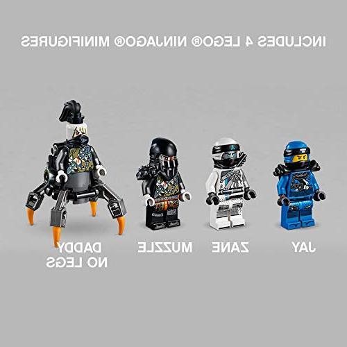 LEGO Masters Spinjitzu: 70652 Toy Kit with Blue Model Kids, Best Playset Gift for Boys