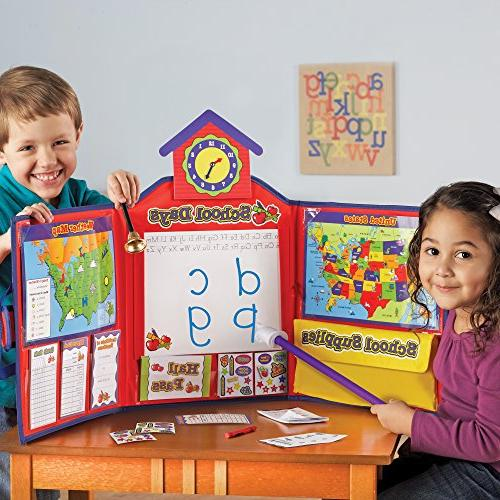Learning Pretend Play School Set, 149 Pieces
