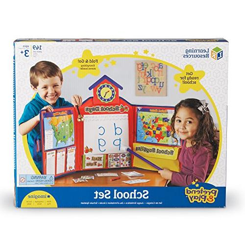 Learning Pretend & Play School Pieces