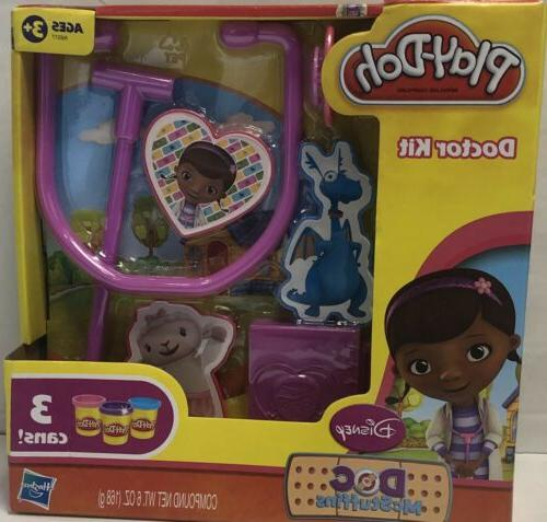 Play Doh Doctor Kit Featuring Doc Mcstuffins
