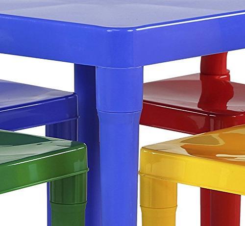 Tot Kids Table 4 Set,