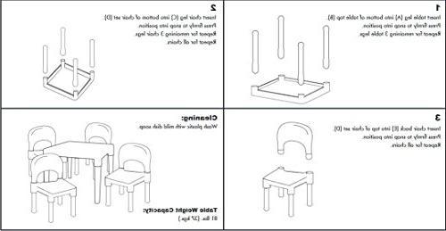 Tot Plastic Table Set,