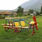 Lifetime Ace Flyer Teeter Totter Seesaw Playground Airplane