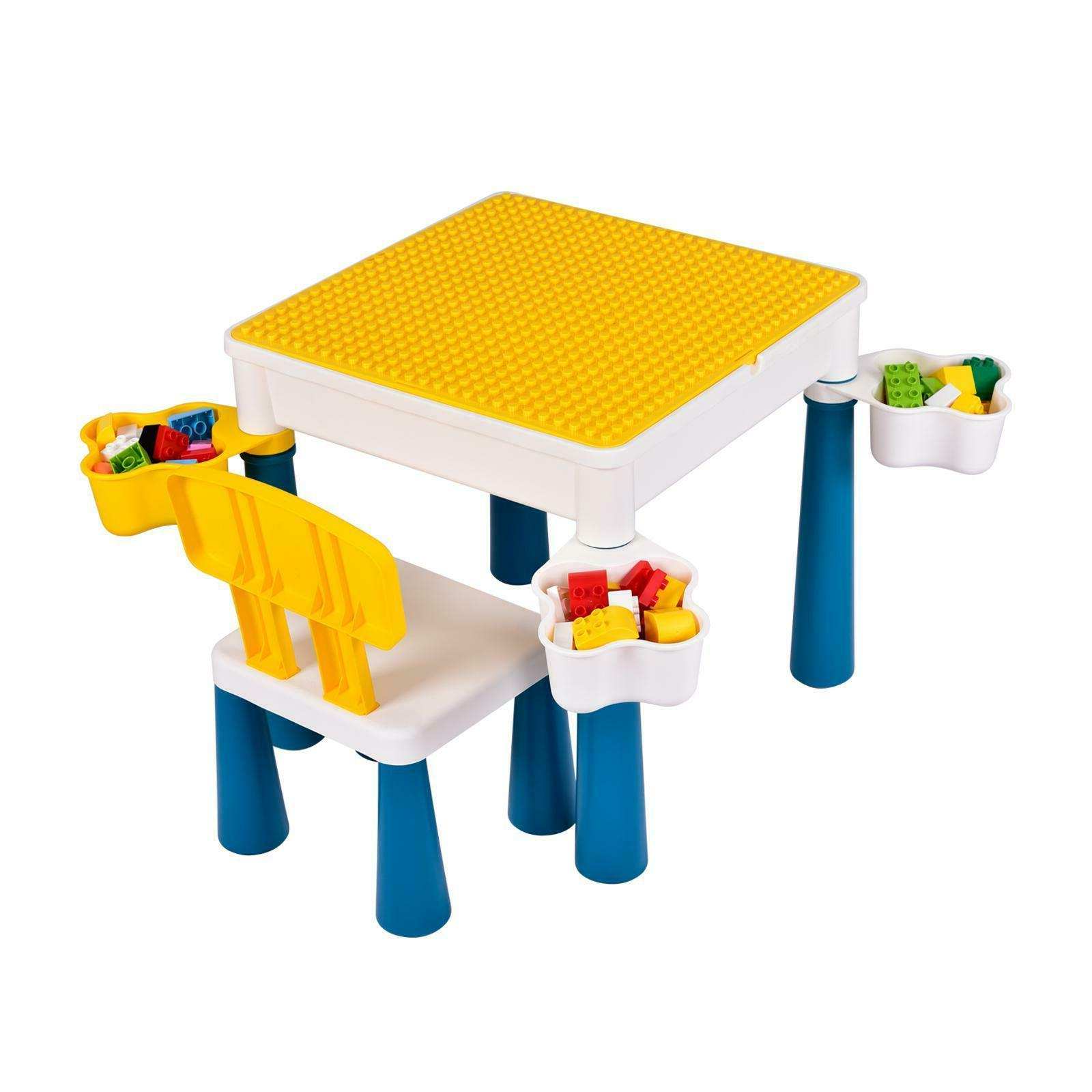 Activity Table For Kids Block Furniture Chair