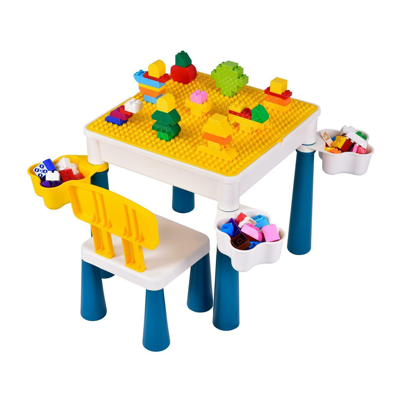 Activity For Building Block Table W/ Chair