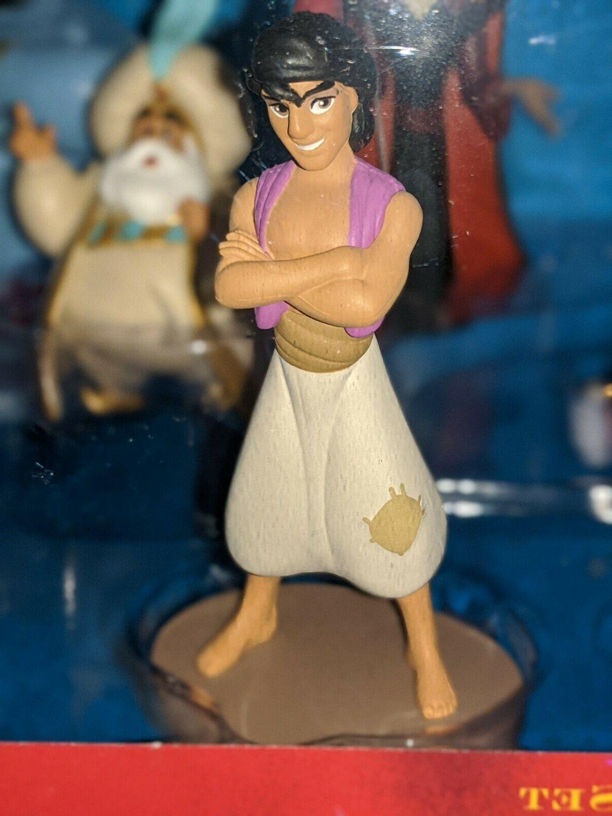 Disney, Aladdin, 9 Piece Deluxe Genie, Jafar