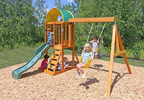 andorra swing set playset