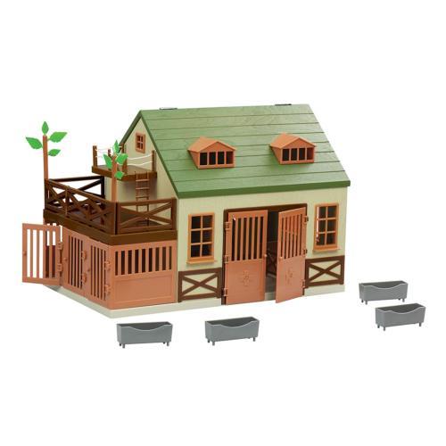 Terra by Battat – Animal Hospital - Wooden Toy Vet Clinic