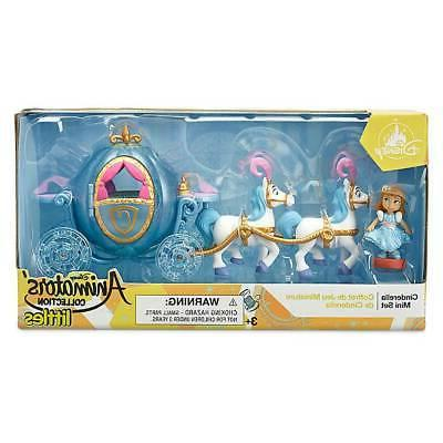 Disney Animators' Collection Littles Cinderella Carriage Min