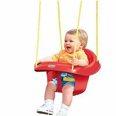 back toddler swing