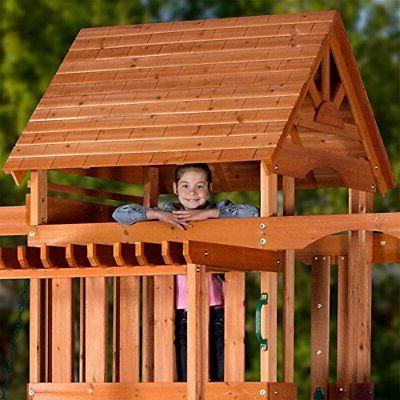 Backyard Discovery Monticello Cedar Wood