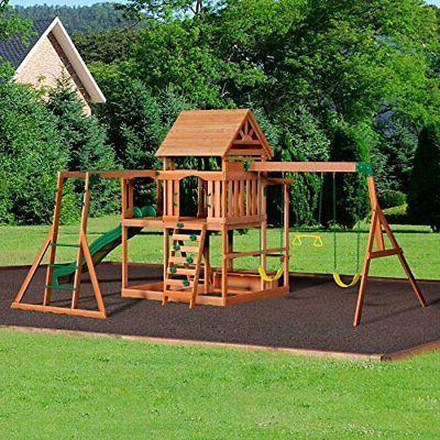 Backyard Discovery Cedar Playset Swing Set