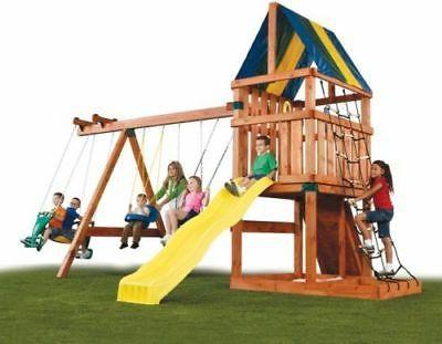 Backyard Set Custom Kids Slide Outdoor Fun