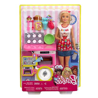 Barbie and Playset, Blonde