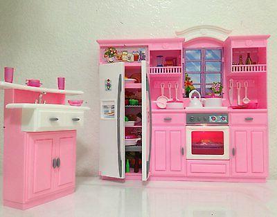 Barbie - My Kitchen Play Set,