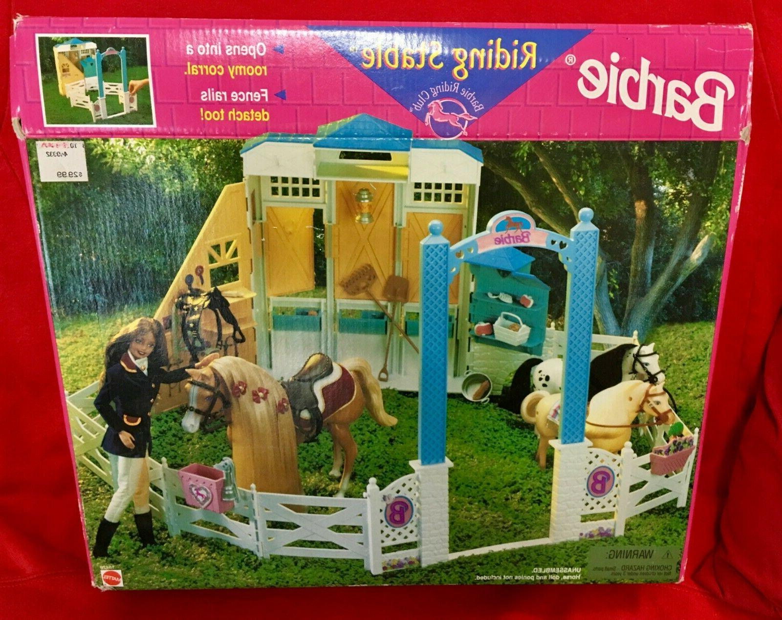 Barbie Riding Stable Mattel 18428 1998 New Sealed