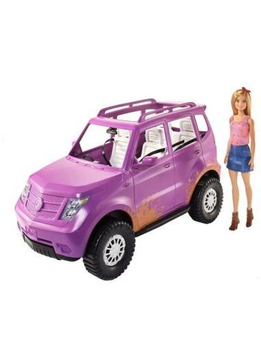 Barbie Sweet Farm SUV barbie purple pink