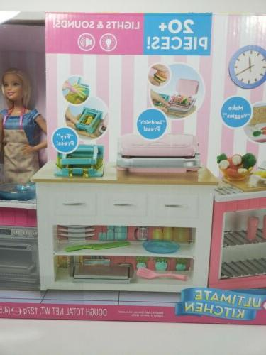 Barbie Ultimate Kitchen Play Set Baking & Cooking