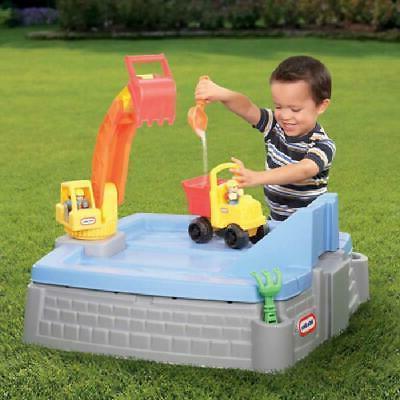 Big Digger Sandbox Portable Outdoor Backyard Kids Fun Play lb