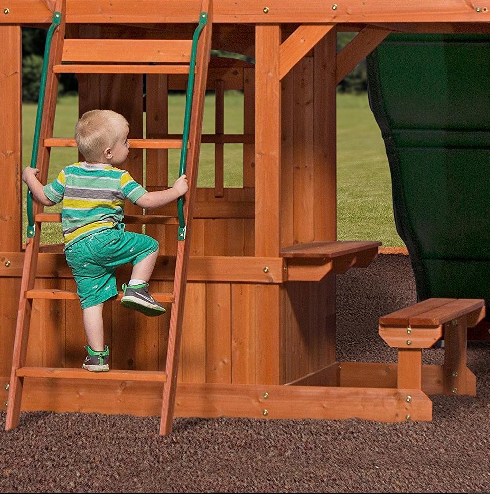 Big Backyard Swing Set for Fort Slide