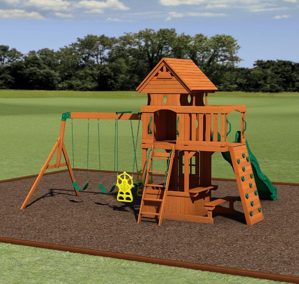 Big Swing Set for Fort Slide