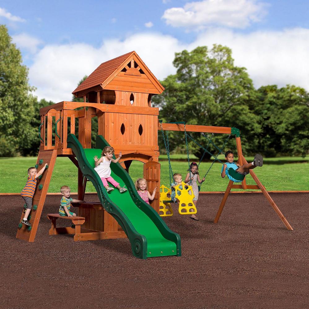 big playset swing set for kids fort