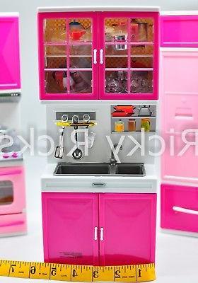 Big Pretend Kitchen Set Cooking Playset