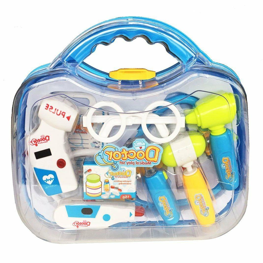 Briefcase Sets Play Learning Pieces +