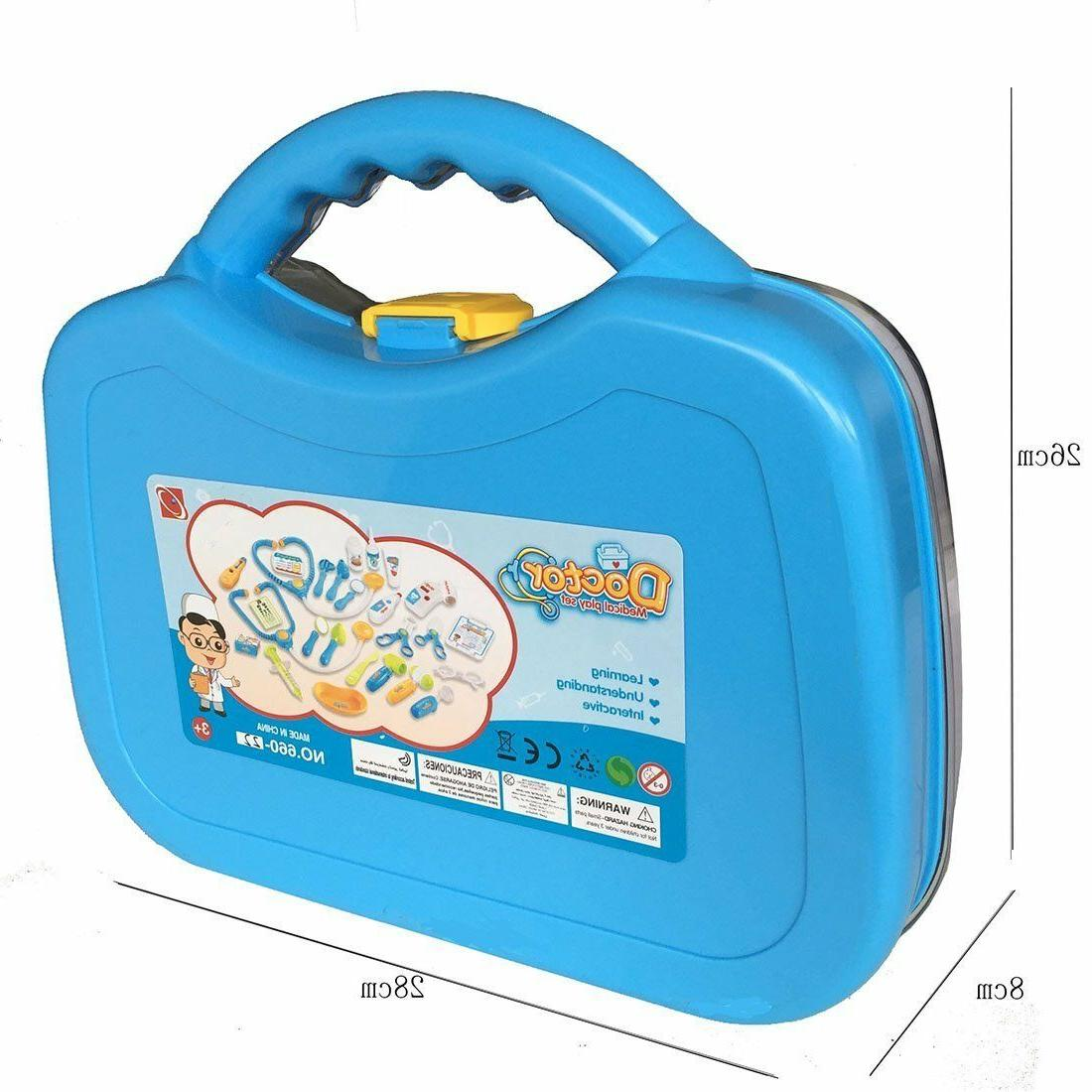 Briefcase Of Medical Sets Play Learning Boy + Years