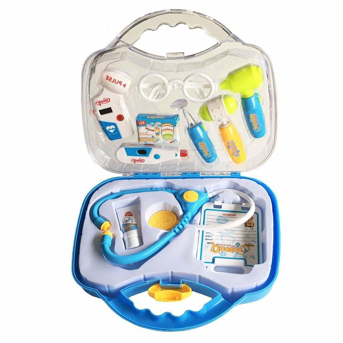 briefcase of medical toy sets of role