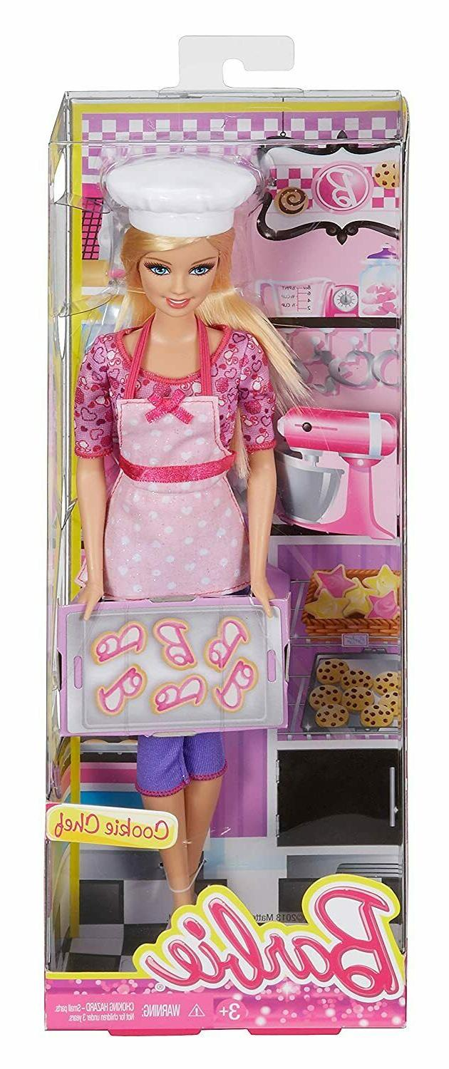 Barbie Careers Cookie Chef Fashion Doll