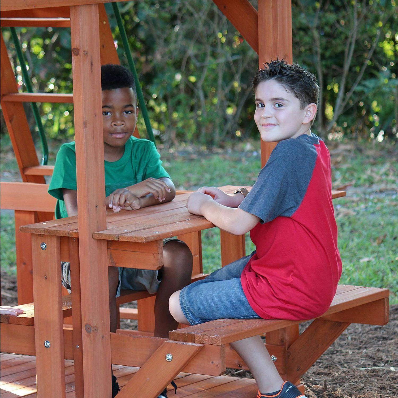 Cedar Swing Set/Play Playground Multiple swings