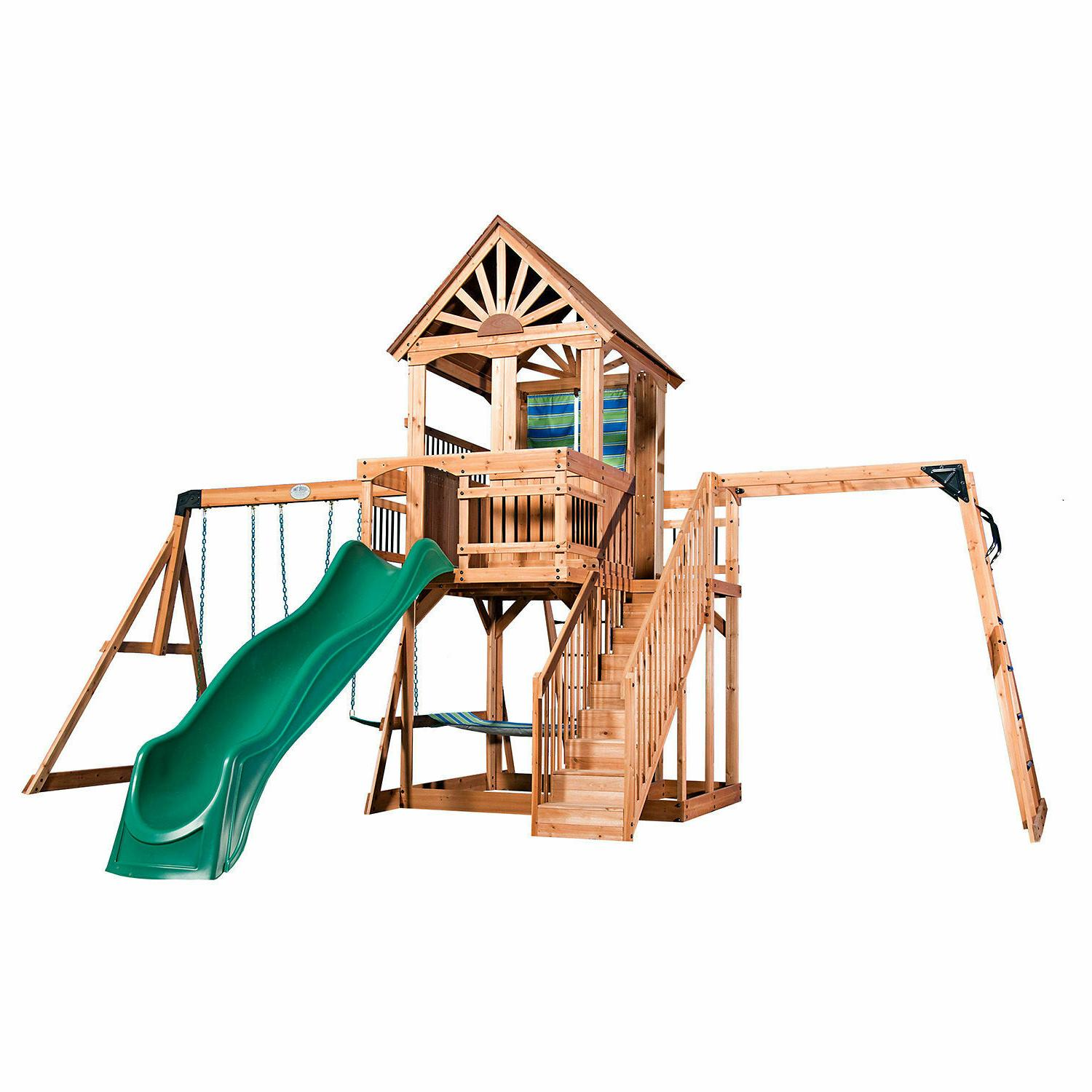 Cedar Playground OCEANVIEW Backyard Discovery