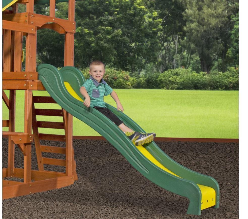 Backyard Cedar set Playset Kids Tucson Slide